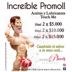 Promocion Aceites y Lubricantes 60ml