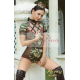 Disfraz Mujer Militar mujer