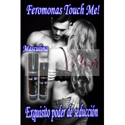 Feromonas Touch Me! Masculina 10ml