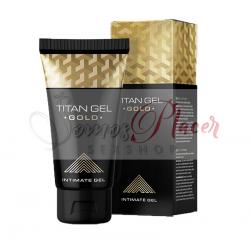 Titan Gel Gold desarrollador de pene