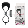 "Anillo doble con vibrador Locker ""Pretty Love"""
