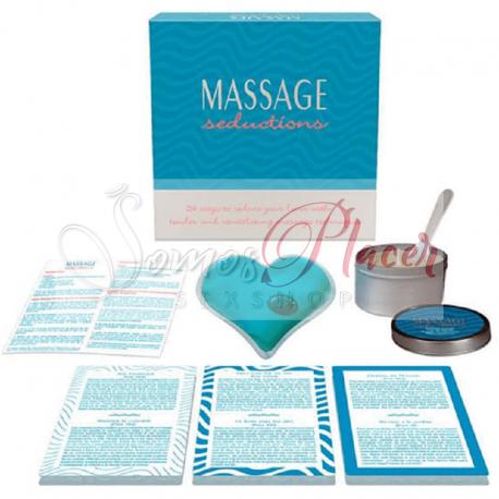 Juego de mesa Massage Seductions