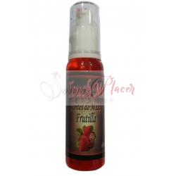 Aceite de Masaje Frutilla 60ml.