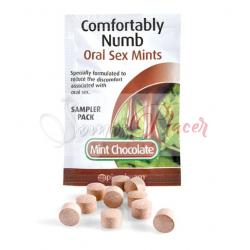 Pastilla Oral Sex Menta-Chocolate POR UNIDAD