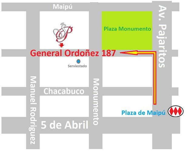 Mapa Sexshop